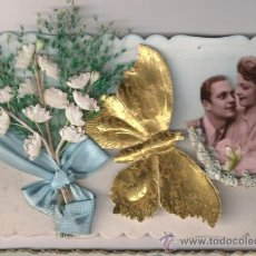 Postales: POSTAL DE SAN VALENTÍN VINTAGE. SIN USO. FRANCIA 1940. Lote 30154165