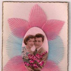 Postales: POSTAL DE SAN VALENTÍN VINTAGE. SIN USO. FRANCIA 1940. Lote 30154222