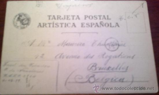 Postales: POSTAL TIPOLIT- REVERSO SIN DIVIDIR - Foto 2 - 20633784