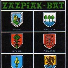 Postales: POSTAL Nº 175 ZAZPIAK-BAT EXCLUSIVAS SAN CAYETANO ESCRITA CIRCULADA SELLO . Lote 30442719