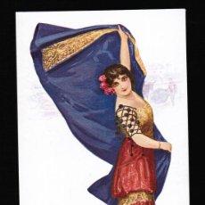 Postales: TIPO MUJER TORERA - CHANTECLER - POSTAL EDICIONES VICTORIA. N. COLL SALIETI. Nº 862. Lote 30512282