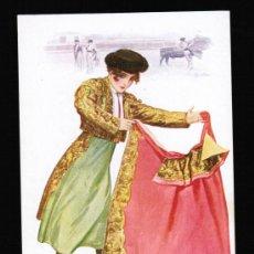 Postales: TIPO MUJER TORERA - CHANTECLER - POSTAL EDICIONES VICTORIA. N. COLL SALIETI. Nº 865. Lote 30512315