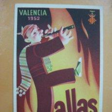 Postales: VALENCIA - FALLAS - AÑO 1952. Lote 30825063
