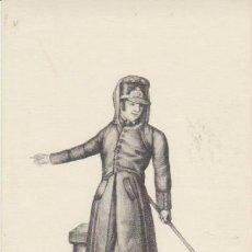 Postales: COLECCIÓN TIPOS DE ESPAÑA DE CARRAFA. SERENO DE 1836. R.A.DE BELLAS ARTES 1961.. Lote 30900813