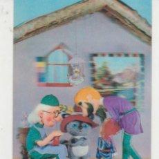 Postales: EL GATO CON BOTA. POSTAL EN TRES DIMENSIONES.. Lote 31389052