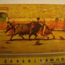 Postales: ANTIGUA TARJETA POSTAL SIRBIN BARCELONA N 8 LA ESTOCADA. Lote 32205553