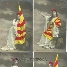 Postales: (PS-28735)LOTE DE 5 POSTALES FOTOGRAFICAS CATALANISTAS. Lote 33256871