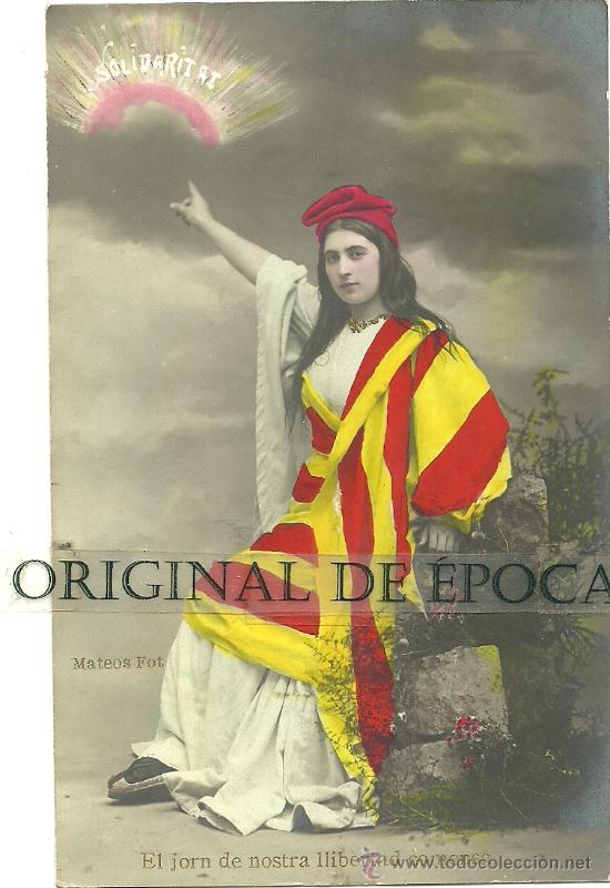 Postales: (PS-28735)LOTE DE 5 POSTALES FOTOGRAFICAS CATALANISTAS - Foto 2 - 33256871