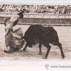 Postales: POSTAL EN PLAZA DE TOROS, EL QUITE, FOTOGRAFIA EN BLANCO Y NEGRO. Lote 34520276