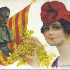Postales: POSTAL COLECCIÓN GLORIES CATALANES - DE R. MIR ´J. ANSELM CLAVE Nº 274. Lote 35336208