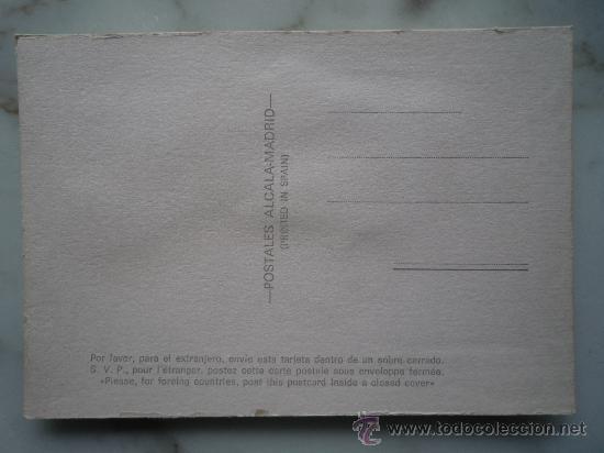 Postales: Postal bordada / nº 6 Torero (traje típico) / Toro Toreo / Dibujos Isabel / Años '70 / Sin usar - Foto 5 - 34940966