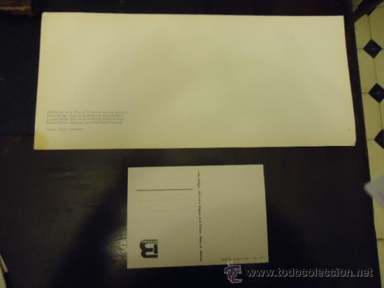 Postales: antigua postal 1980 gigante panoramica 36 x 16 cm de coleccion ver mas - Foto 2 - 35167603