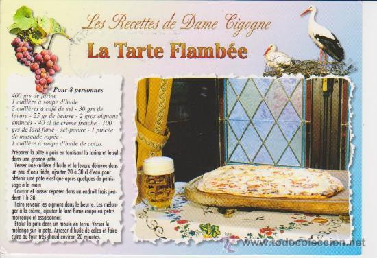 Receta de cocina en frances la tarte flambee comprar for Las comidas en frances