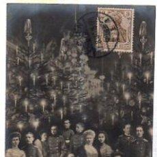Postales: TARJETA POSTAL FOTOGRÁFICA WEIHNACHTSABEND IM KAISERHAUSE, BERLIN 1831. Lote 35405464