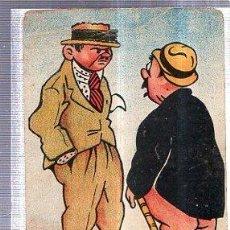 Postales: TARJETA POSTAL HUMORÍSTICA, HUMOR, ACCIDENTE FERROVIARIO, CHISTE. Lote 36604453