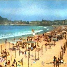 Postales: POSTAL SONORA FONOSCOPE VISTA DE LA CONCHA - SAN SEBASTIAN. Lote 36646607
