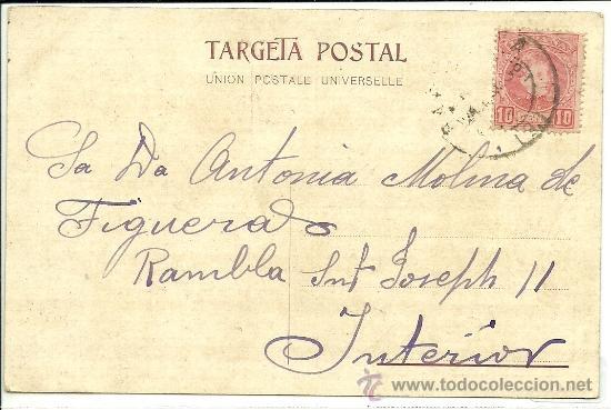 Postales: (PS-34455)POSTAL DE LA SOLIDARITAT CATALANA- MAIG 1906 - Foto 2 - 37347519