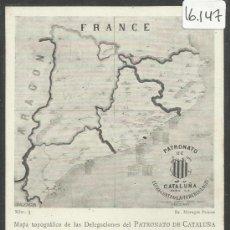 Postales: PATRONATO DE CATALUÑA PARA LA LUCHA CONTRA LA TUBERCULOSIS - REV SIN DIVIDIR - (16.147). Lote 37556510