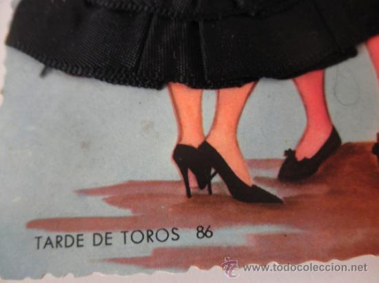 Postales: POSTAL BORDADA SEVILLANA Y TORERO - Foto 4 - 37872276