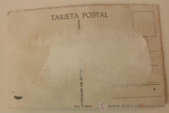 Postales: POSTAL BORDADA SEVILLANA Y TORERO - Foto 5 - 37872276