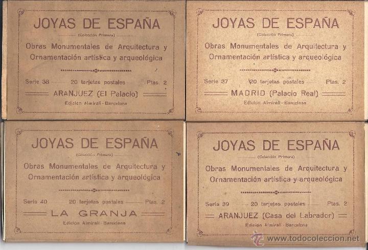 Postales: COLECCIÓN JOYAS DE ESPAÑA. 45 SERIES. FALTAN 17 POSTALES. PRIMER TERCIO S. XX - Foto 10 - 39717964