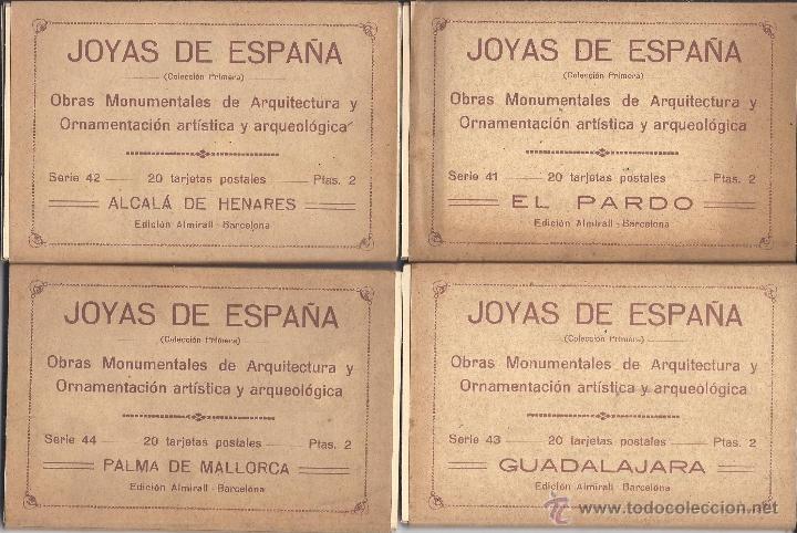 Postales: COLECCIÓN JOYAS DE ESPAÑA. 45 SERIES. FALTAN 17 POSTALES. PRIMER TERCIO S. XX - Foto 11 - 39717964