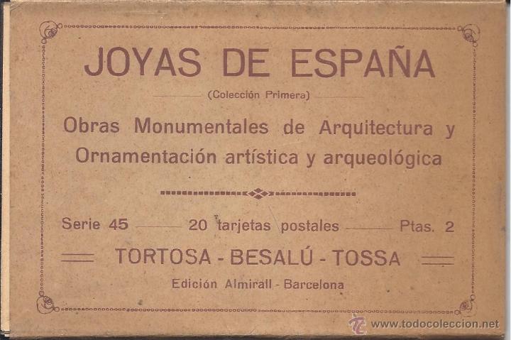 Postales: COLECCIÓN JOYAS DE ESPAÑA. 45 SERIES. FALTAN 17 POSTALES. PRIMER TERCIO S. XX - Foto 12 - 39717964