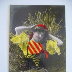 Postales: POSTAL CATALANISTA. CIRCULADA 1909. 1683/84.. Lote 39921120