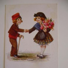 Postales: POSTAL CATALANISTA.PARELLA CATALANA.ADÉU, PAGESETA...J.IBAÑEZ.CIRCULADA 1926.ED.VICTORIA.N.1236.. Lote 39936679