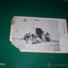 Postales: RARA POSTAL BUSCANDO POSADA. THOMAS. SIN PARTIR. PRINCIPIOS SIGLO XX. Lote 40234905