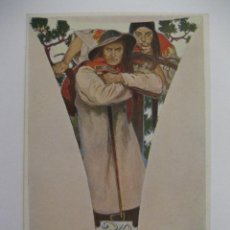 Postales: POSTAL ALPHONSE M. MUCHA. LA VIGILANCIA.. Lote 27466558