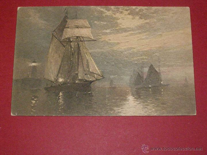 BONITA Y ORIGINAL POSTAL - C.W. FAULKNER & CO. LTD. LONDON - SERIES 1605 - SIN CIRCULAR - (Postales - Postales Temáticas - Especiales)