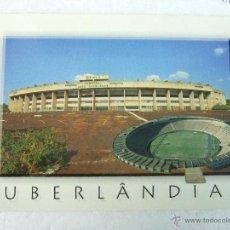 Postales: POSTAL CAMPO FUTBOL - UBERLANDIA MG - ESTADIO MUNICIPAL JOAO HAVELANGE - BRASIL. Lote 40716646