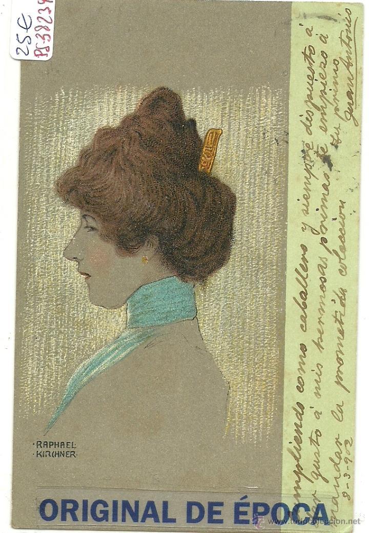 (PS-38239)POSTAL ILUSTRADA POR RAPHAEL KIRCHNER (Postales - Postales Temáticas - Especiales)