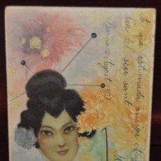 Postales: POSTAL ILUSTRADA POR RAPHAEL KIRCHNER. GHEISA. Lote 41193459