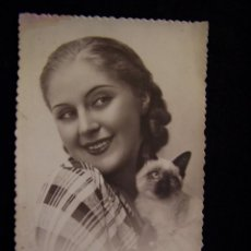 Postales: POSTAL FOTOGRÁFICA CIRCULADA 1936 ED PD SERIE 193/1 MIL FELICIDADES. Lote 41442159