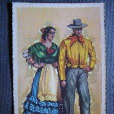 Postales: ANTIGUA POSTAL - TRAJES TÍPICOS - MÁLAGA - FUSER ARTIGAS LAIETANA - NUEVA SIN ESCRIBIR -. Lote 41693969