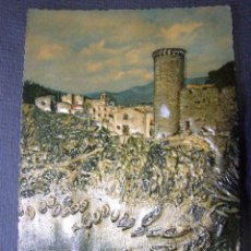 Postales: ANTIGUA POSTAL EN RELIEVE - COSTA BRAVA - TOSSA DE MAR - ESCRITA -. Lote 41694361