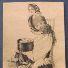 Cartoline: LA CASTAÑERA. HAUSER Y MENET. 1911.. Lote 42723095