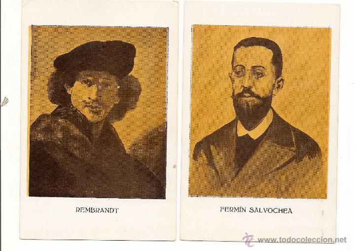 Postales: SERIE V COMPLETA DE POSTALES DE GENERACIÓN CONSCIENTE - MUY RARAS - SIN CIRCULAR - AÑOS 20-30 - Foto 2 - 43062981