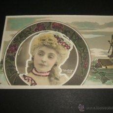 Postales: REJANE POSTAL ARTISTA HACIA 1905. Lote 43275287
