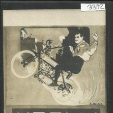 Postales: POSTAL CIRCO - ACROBACIAS - MAGIA - EQUILIBRISMO - KEELY -MOTOR CYCLE - (3372) . Lote 43296247