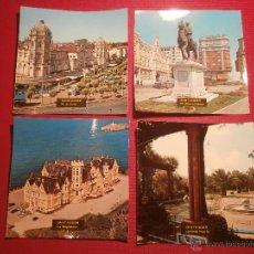 Postales: 4 FOTO POSTALES - CUADRADAS AÑOS 50 - SANTANDER - . Lote 43300409