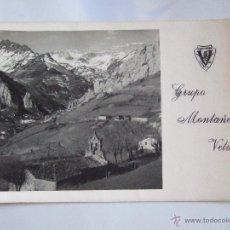 Postales: TARJETA TAMAÑO POSTAL - GRUPO MONTAÑERO VETUSTA - FELICITACION NAVIDAD 1960 - OVIEDO AVILES. Lote 43657248