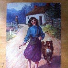 Postales: ANTIGUA POSTAL SCOTISH LIFE AND CARACTER - VIDA ESCOCESA Y PERSONAJES - TUCKS POST CARD - SERIE V. Lote 44109626
