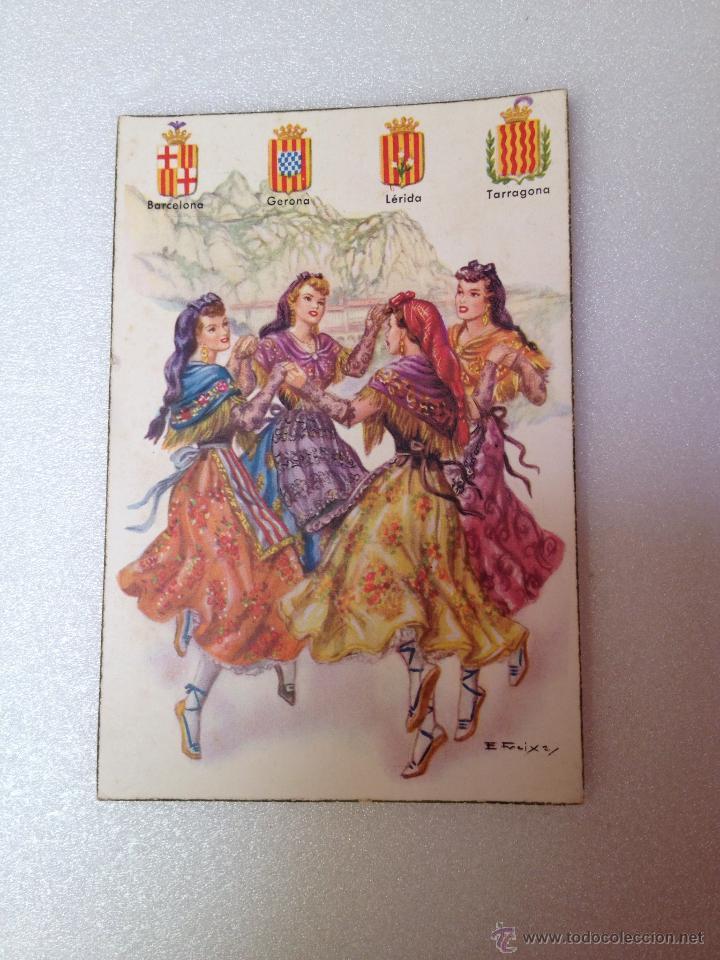 POSTAL DE LAS 4 REGIONES CATALANAS (Postales - Postales Temáticas - Especiales)