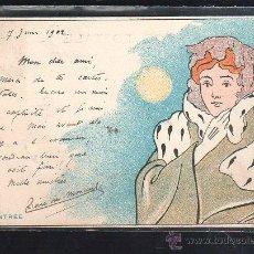 Postales: TARJETA POSTAL DE HENRI. MEUNIER. RENTREE. Lote 44336136