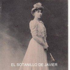 Postales: POSTAL HAUSER Y MENET DE S.M. DOÑA VICTORIA EUGENIA REINA DE ESPAÑA. Lote 45002143