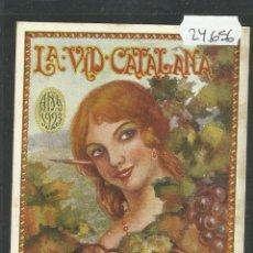 Postales: POSTAL LA VID CATALANA - ANY 1923 - XIV ANIVERSARI - (24656). Lote 45152735
