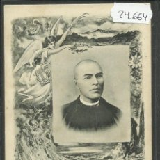 Postales: POSTAL MOSSEN JACINTO VERDAGUER - MULLER HNOS. BARCELONA - REVERSO SIN DIVIDIR -(24664). Lote 45152955